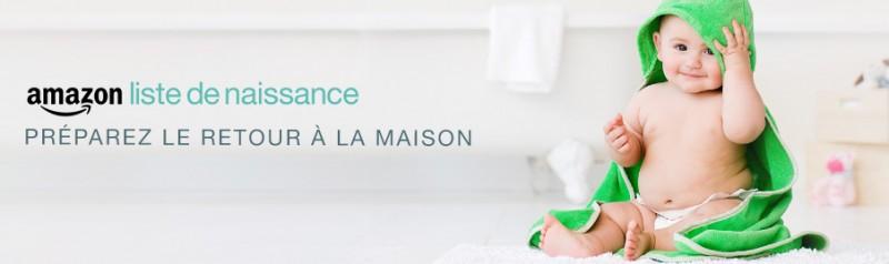 liste de naissance chez Amazon.fr
