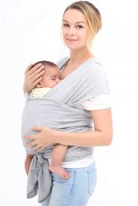 écharpe de portage pour bébé